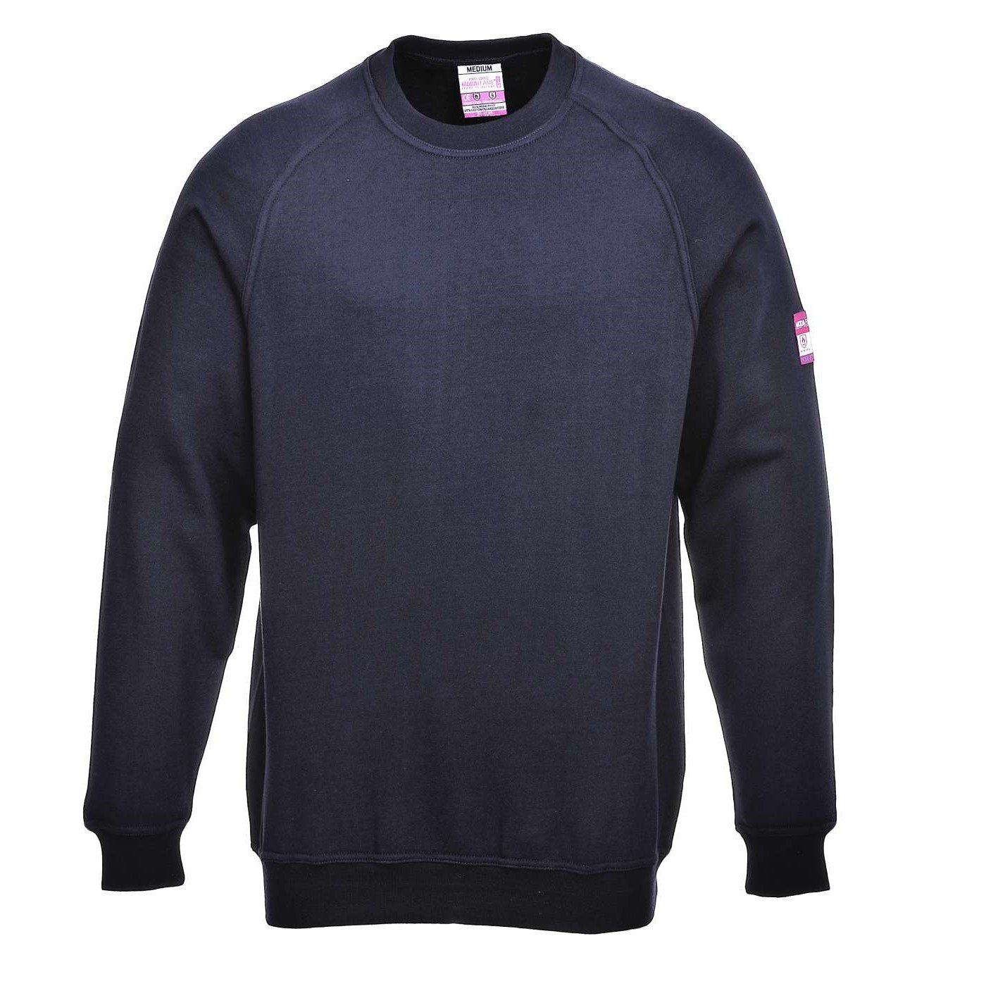 98a5c6ab Portwest ModaFlame Flame Resistant Anti-Static Sweatshirt FR12