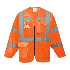 Portwest Vest-Port High Visibility Executive Jacket