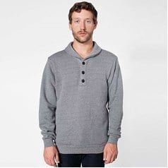 American Apparel Unisex Shawl Collar Rugby Top (RSA0426)