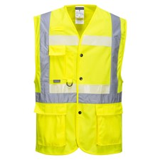 PORTWEST CV01 grey cooling vest one size keep cool for up to 8 hours