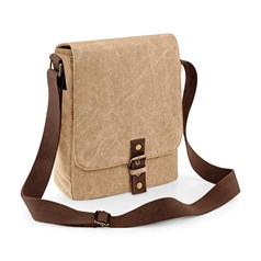 Quadra Vintage Canvas Ipad or Tablet Reporter Bag