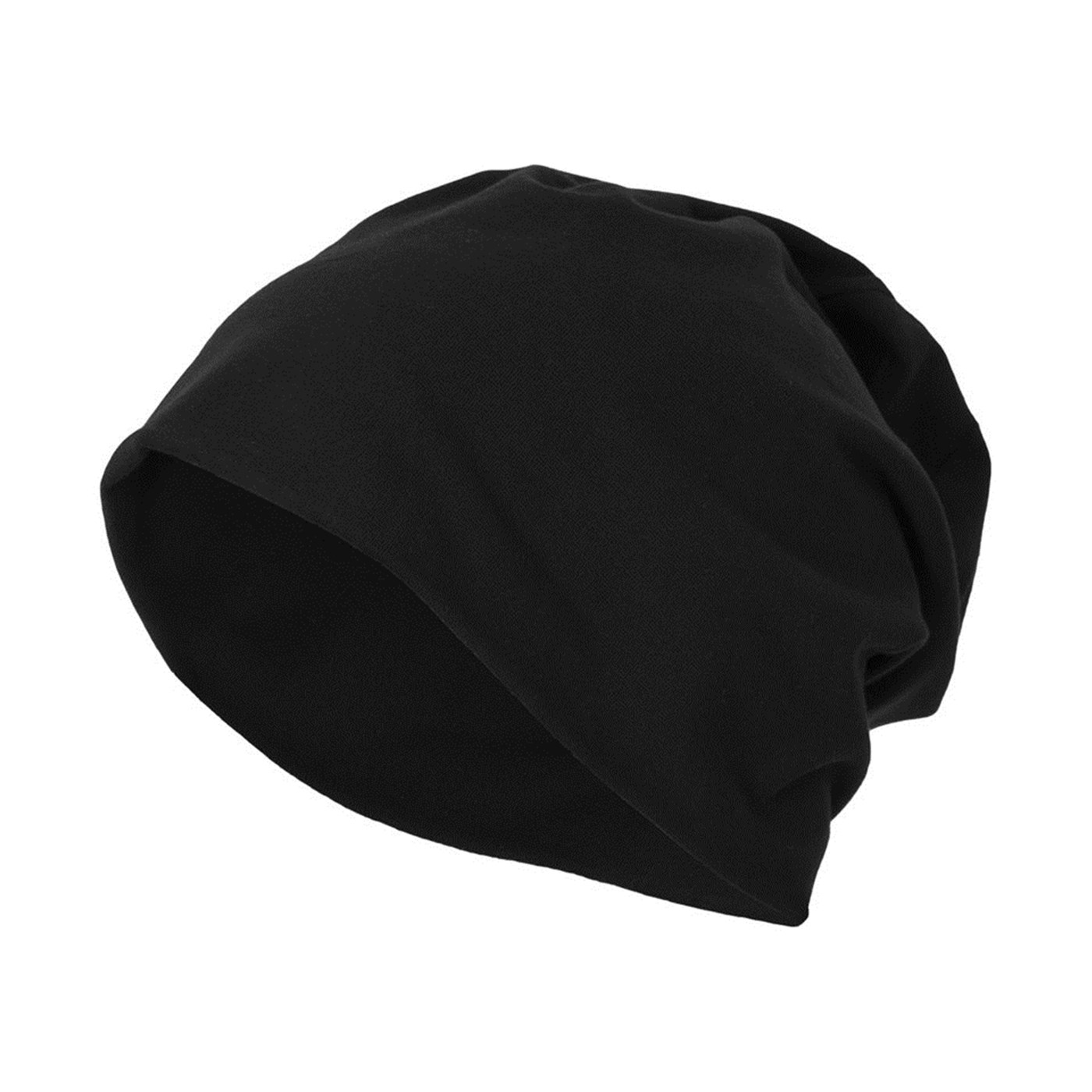 54f361fd81f Build Your Brand Adult s Jersey Beanie Hat
