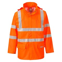 Portwest Sealtex Flame High Visibility Fully Waterproof Jacket