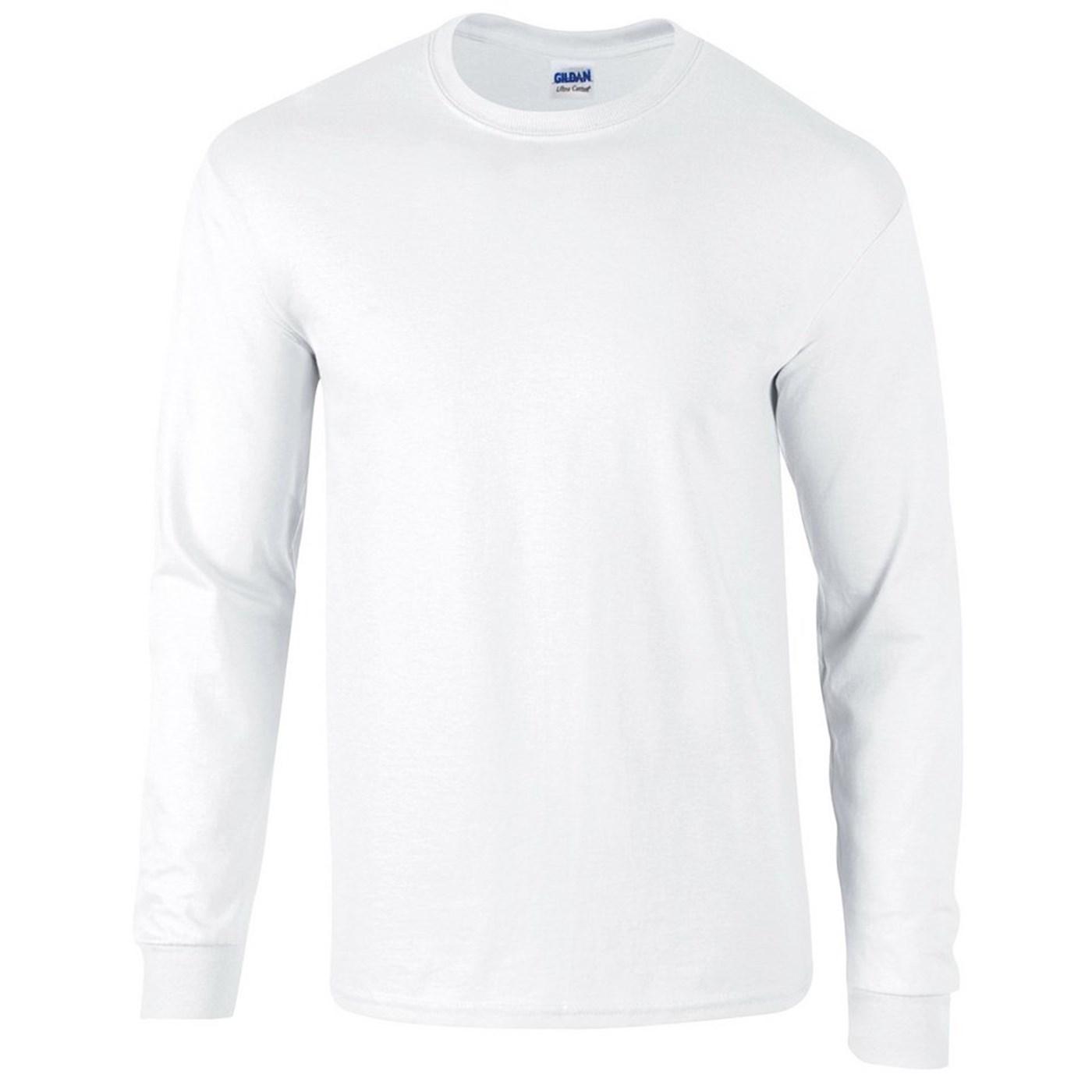 9ef342c13c0d4e Gildan Adult's Ultra Cotton Long Sleeve T-Shirt GD014