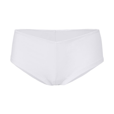 Cotton Spandex shortie White