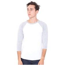 6a38e9a8 Bella Canvas Men's Henley Jersey Long Sleeve T-Shirt CV006