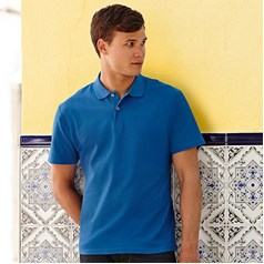 Fruit of the Loom Adults Unisex 100% Cotton Original Polo Shirt