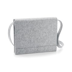 BagBase Felt Messenger Bag