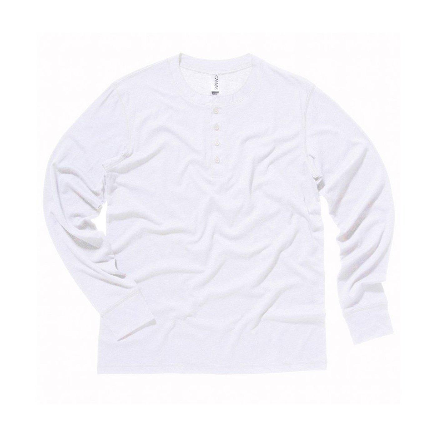 f735ad40 Bella Canvas Men's Henley Jersey Long Sleeve T-Shirt. Product Code - CV006