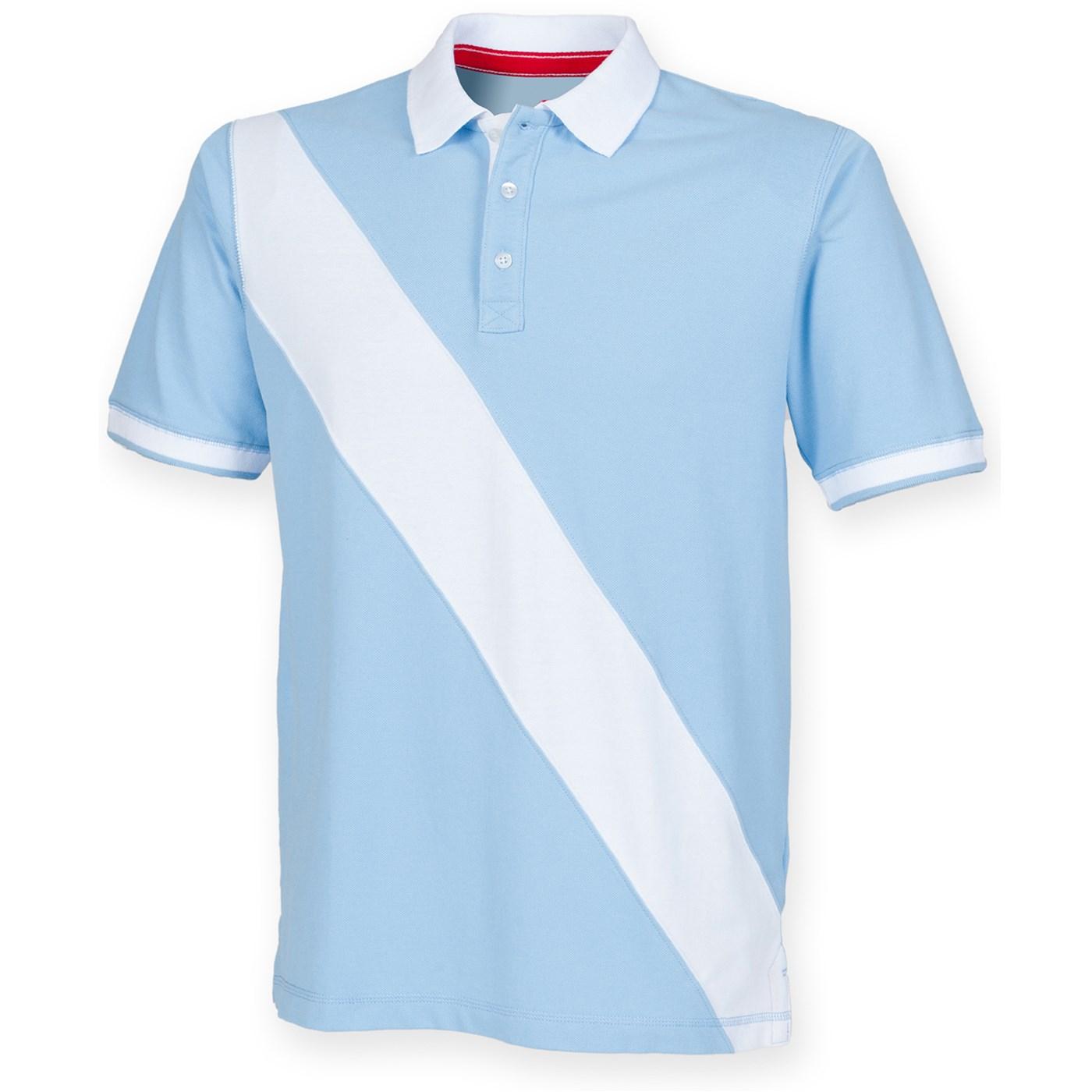 Front Row rugby Diagonal Stripe Piqué Polo Shirt-Tag-FR212 gratuit