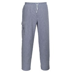 Portwest Chester Eleasticated Waist Chefs Trousers