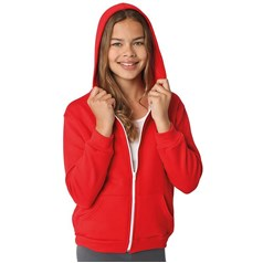 American Apparel Youth Flex Fleece Full Zip Hoodie (F297)