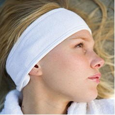 Towel City Velcro Fastening Beauty Hairband