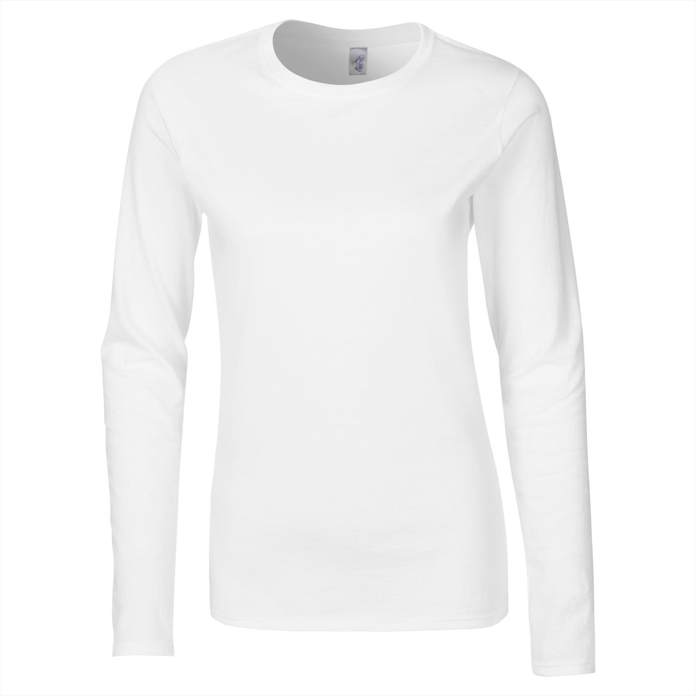3382349f90f Gildan Women s Softstyle  Ringspun Long Sleeve T-Shirt GD076