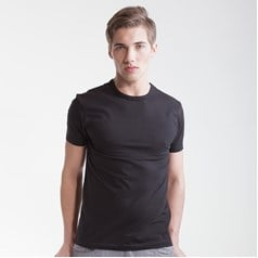 SF Men Stretch Fabric Fitted T-Shirt