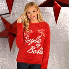 "Christmas Shop Women's 3D ""Jingle My Bells"" Jumper"