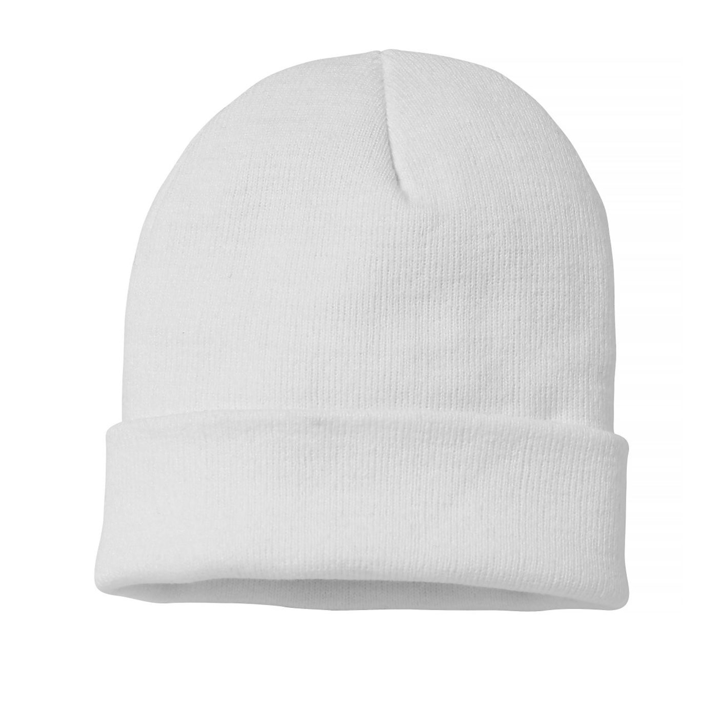 a01a74a5569 Nutshell Adult s Knitted Turn-Up Beanie Hat NS001