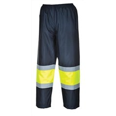 Portwest 300D Fabric High Visibility Contrast Traffic Trousers