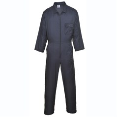 Portwest Nylon Zip Front Work Coverall