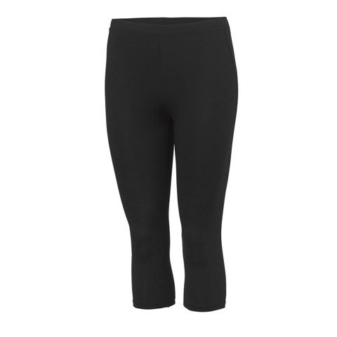 Girlie cool capri Jet Black