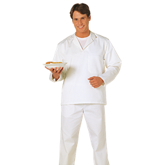 Portwest Fortis Plus Fabric Long Sleeve Baker Shirt - 2203