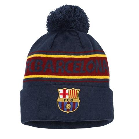 fe7ba036a19 ... Official Football Merchandise Adult s Barcelona FC Text Beanie. Adult  FC Barcelona text beanie Navy  Burgundy