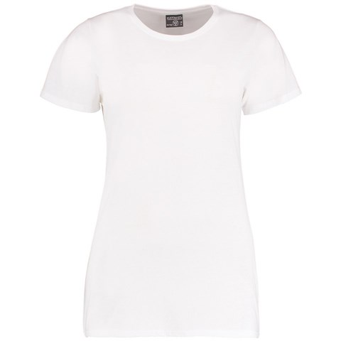 Kustom Kit Womens Superwash Fashion Fit T-Shirt KK754 Crew Neck T-Shirt