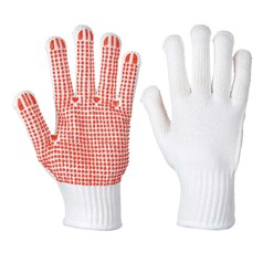 Portwest Grip Heavyweight PVC Polka Dot Glove - A112