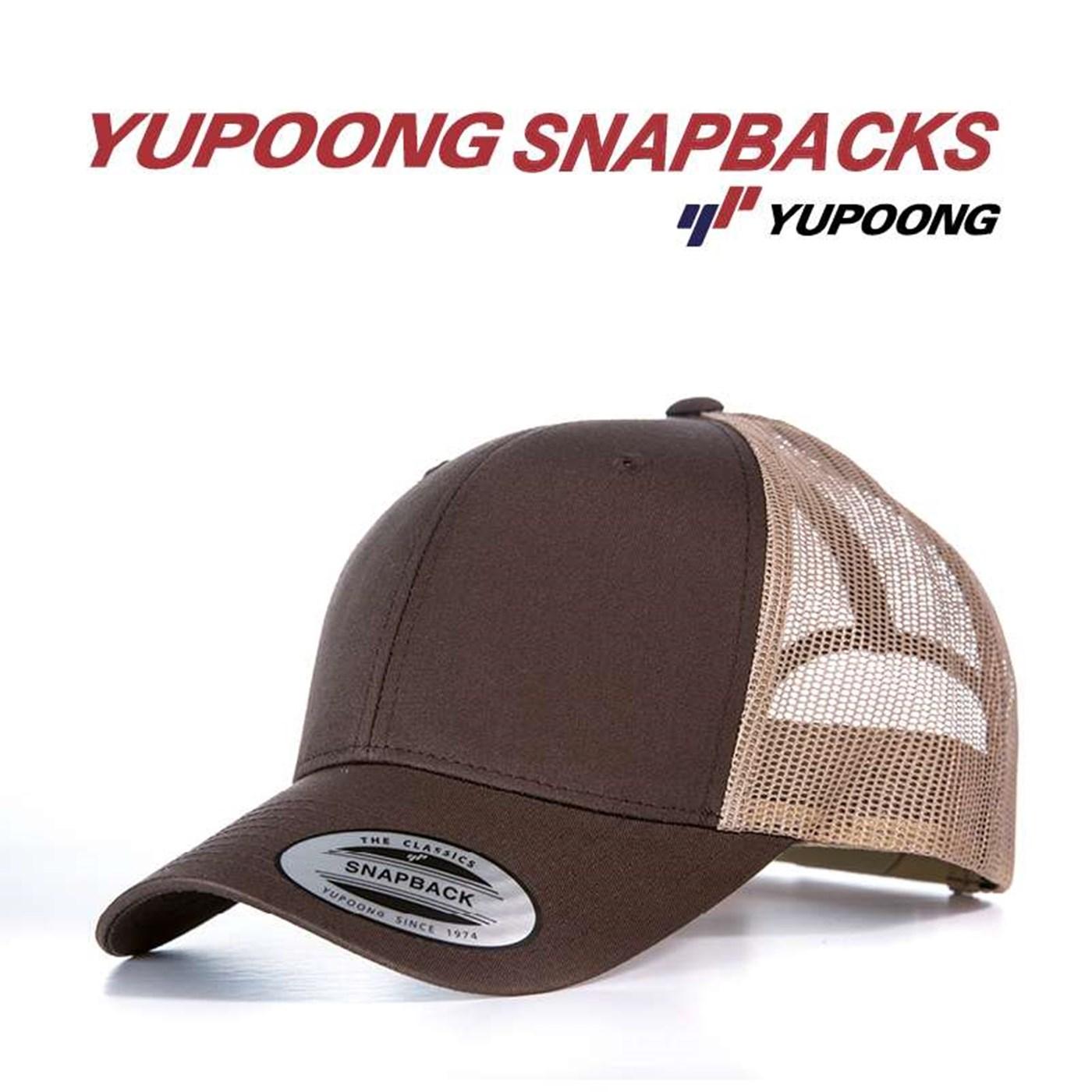 3a6fc0f1fca Flexfit by Yupoong Adult s Retro Snapback Trucker Cap (6606)