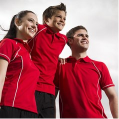 Finden Hales Ladies Piped Polo Shirt