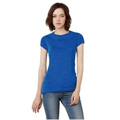Bella Canvas Ladies Short Sleeved Crew Neck T-Shirt