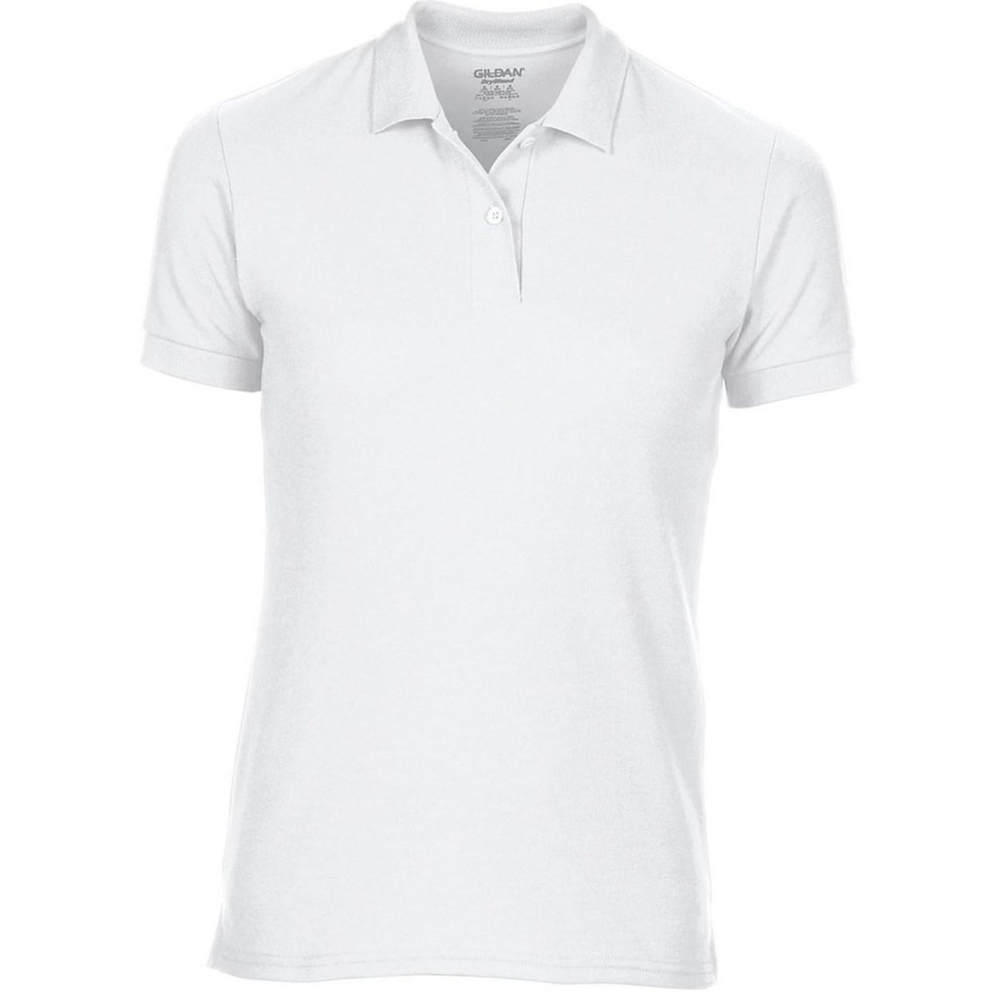 c30910b8619c08 Gildan Women's DryBlend Technology Semi Fitted Sports Polo Shirt GD045