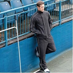Finden Hales Piped Showerproof Tracksuit Top