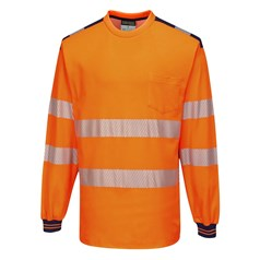 Portwest PW3 Hi-Vis Long Sleeve T-Shirt