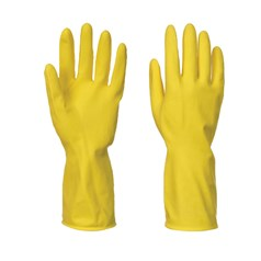 Portwest Box of 240 Flock Lined Household Latex Glove